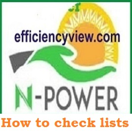 How to check Npower Shortlisted Candidates 2020 November/December for Screening Test