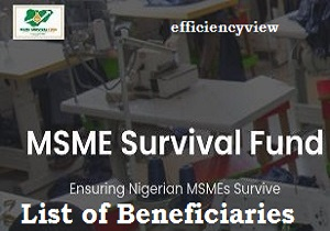 Survival Fund List of Successful Shortlisted Beneficiaries 2020/2021 - survivalfund.ng
