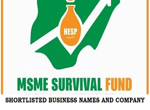 Survival Fund Payroll Support List of Shortlisted Business Names/Company 2020/2021