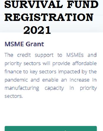Steps to Register for 2021 MSME Survival Fund Grant Registration Form in Nigeria