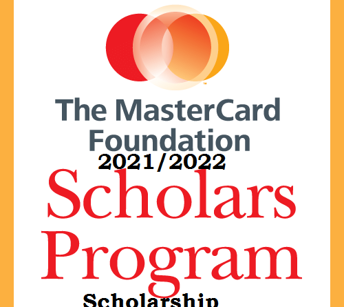Masterscard Foundation Scholarship 2021/2022 for Online Learning to study at University of Edinburgh
