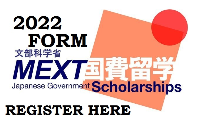 Japanese Government MEXT Scholarships Application Form 2022 – Apply Now