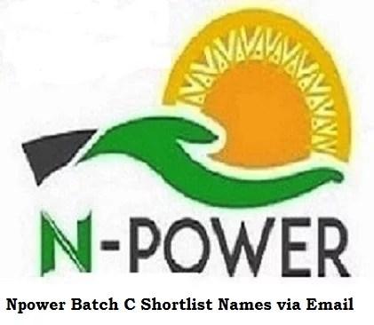 Npower Batch C Shortlist Names 2021/2022 via Email