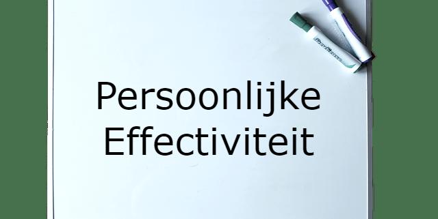 Persoonlijke effectiviteit