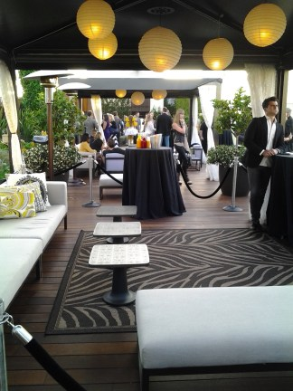 W Residences Rooftop Party VIP lounge