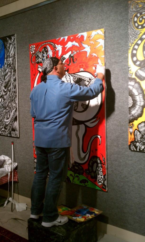 Artist at work 2