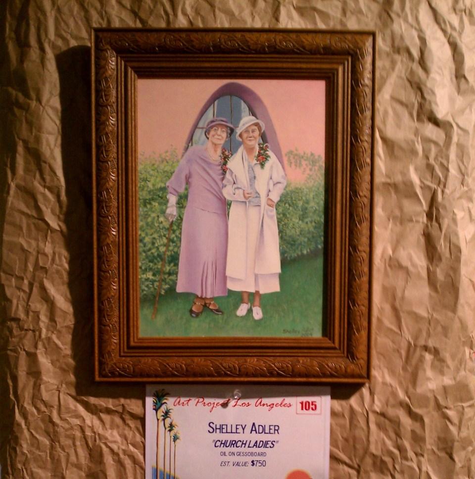 Church Ladies by Shelley Adler