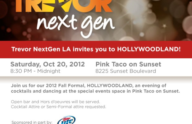 Trevor Project NextGen Hollywoodland
