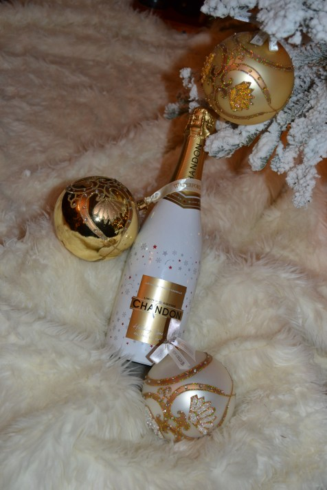 What better ornaments for the tree, than Chandon and Waterford.
