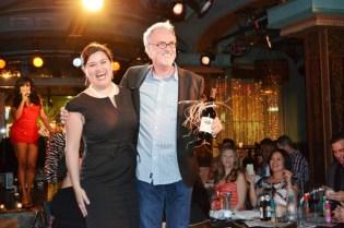 Live Auction Winners: Hilda Hernandez & Jack Forrestel