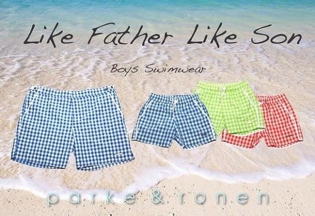 Parke & Ronen Father-Son Swimwear