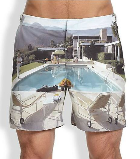 Bulldog Kaufman Cocktail Swim Trunks