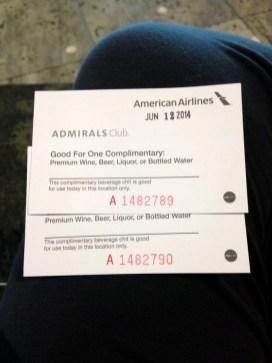Admirals Club Entry