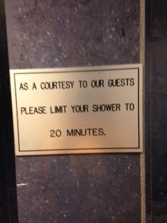 20 Minute Shower