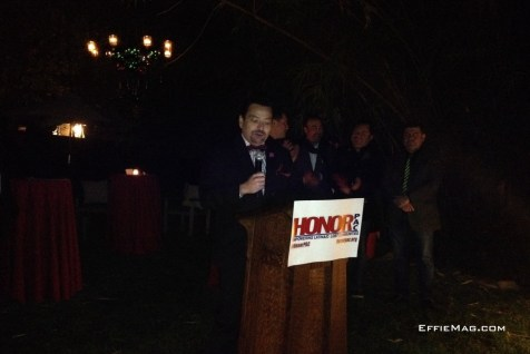 Honor PAC President Mario Ceballos