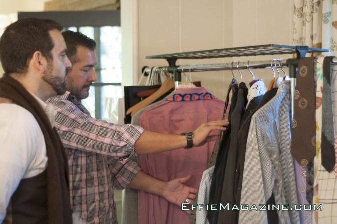 EffieMagazine.com Photo Shoot with Tuc Watkins - Effie Cornejo - Nicholas Cacarnakis