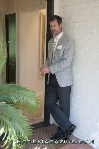 EffieMagazine.com Photo of Tuc Watkins wearing Mon Atelier, Hugo Boss, Art Lewin Bespoke