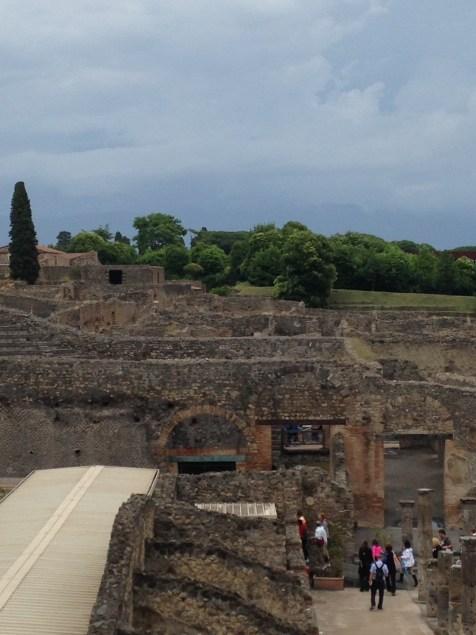 EffieMagazine.com, Effie Magazine photo Viaggio di Vanessa, Pompeii after excavation