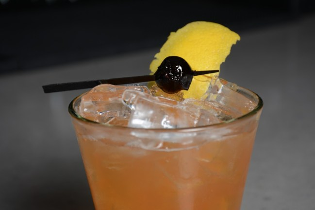 Effie Magazine photo: FIN Sour cocktail, EffieMagazine.com