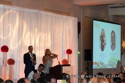 Event hosts Matthew Lillard & Wendy Burch