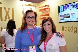Caroline Hirons & Colleen Lota at PIXI