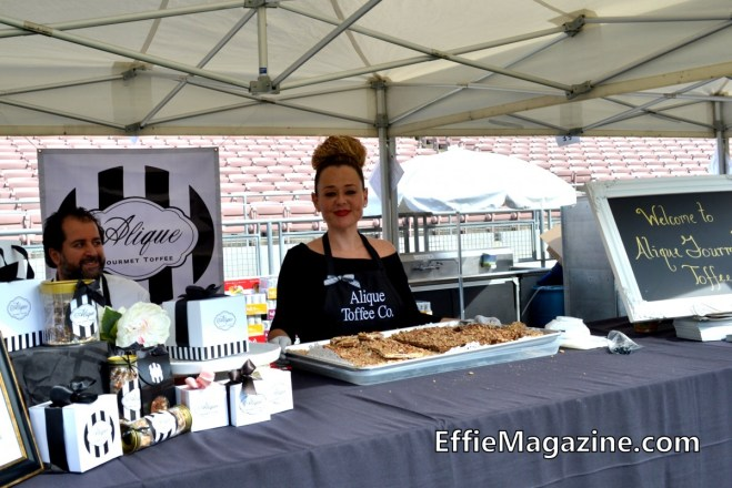 Effie Magazine, Pasadena, Union Station Homeless Services, Masters Of Taste, Rose Bowl, Alique Gourmet Toffee