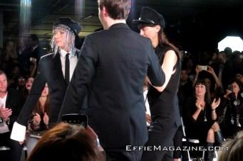 Effie Magazine, Los Angeles Fashion Week, O'Gara, Columbia Square, Esther Perbandt, Veruschka von Lehndorff, Angelica Huston