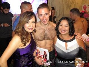 BG Casas & Tina Forrestel with model