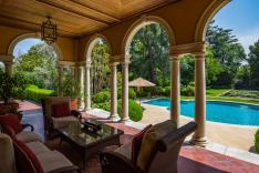 Side Loggia Overlooking The Pool