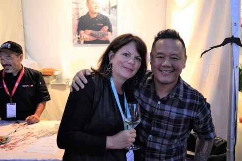 Lisa Barriere & Chef Jet Tila