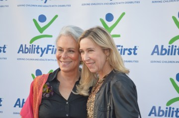 Jane Kaczmarek and Jill Roberts