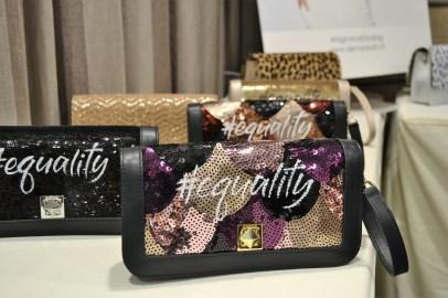 """De Marquet """"#equality"""" Clutch.Bag"""