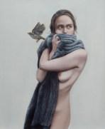 Effie Pryer, 240 Montrose Road, 8.35pm, oil on panel, 40x50cm
