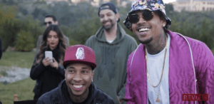 "Go Behind The Scenes Of Chris Brown And Tyga's ""Ayo"" Video"