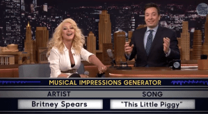 Watch : Christina Aguilera Musical Impressions
