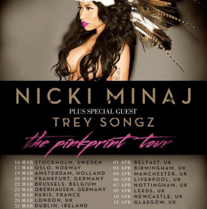 Nicki Minaj Announce European Tour