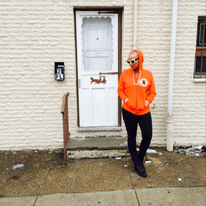 Amber Rose visits childhood home and reminisce (Photo)