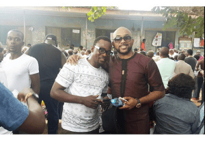 Banky W shares video of him Voting at the Nigerian Election