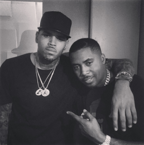 Chris Brown & Nas – Photo of the Day