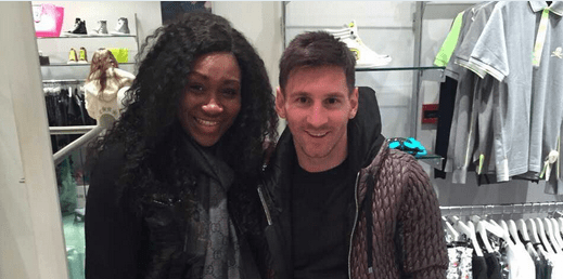 , Ebube Nwagbo Bump Into Messi And Cesc Fabregas In London (Photos), Effiezy - Top Nigerian News & Entertainment Website