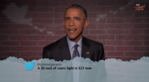 President Obama and Wife Michelle Entertain Us (Video)