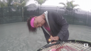 "Serena Williams Re-enacts Beyonce's ""7/11"" Video For VOGUE Tennis Style!"
