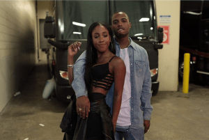 Rapper B.o.B and Singer Sevyn Streeter cosy up at Chris Brown's Concert (Photo + Video)