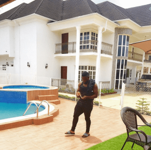 Timaya shows off his exquisite house (Photo)