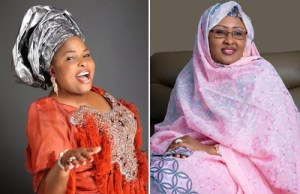 Patience Jonathan sends her Congratulations to Mrs Buhari