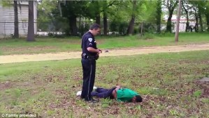 White Cop Fatally Shoots Fleeing Unarmed Black Man 8 times! Warning Graphic (Video + Photo)