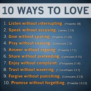 10 Ways to Love – Another Laugh