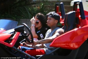 Tyga takes Kylie Jenner for a cruise (Photos)