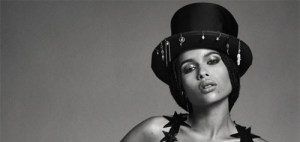 Zoe Kravitz poses Topless for Flaunt Magazine (Photos)