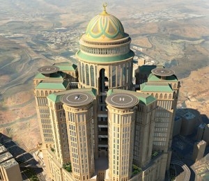 World's biggest hotel to open in Mecca (Photo)